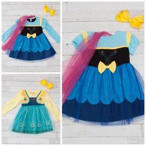 Other - Frozen Inspired Anna Character Boutique Dress